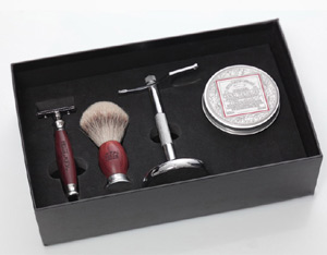 Shaving Set with 4 parts